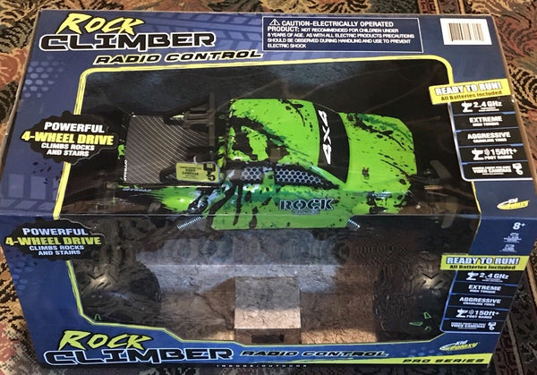 Pro Series Rock Climber 2.4Ghz Remote Control Truck Powerful 4-wheel Drive