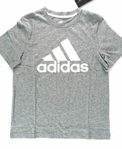 Adidas boys Cotton Logo Tee