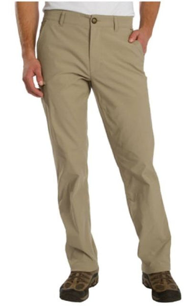 Mens LB Tech Rainier Travel Chino Classic Khakki 32x32