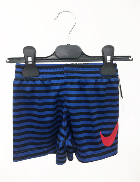 Nike shorts blue with black stripes 12m
