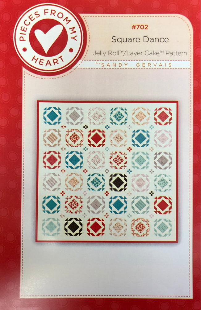 Square Dance #702 Quilt Pattern