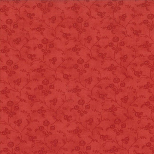"Grant Park Tonal Berries and Vines - Red 108"" Wide Back"