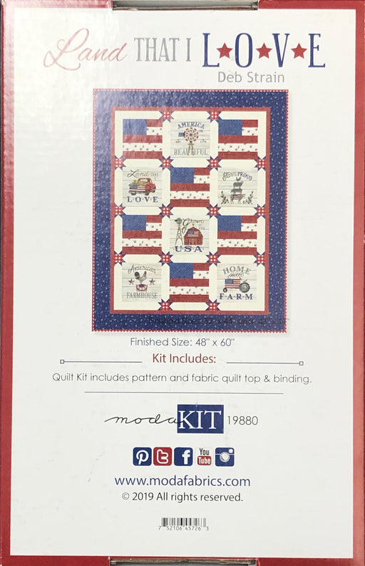 Land That I Love Quilt Kit