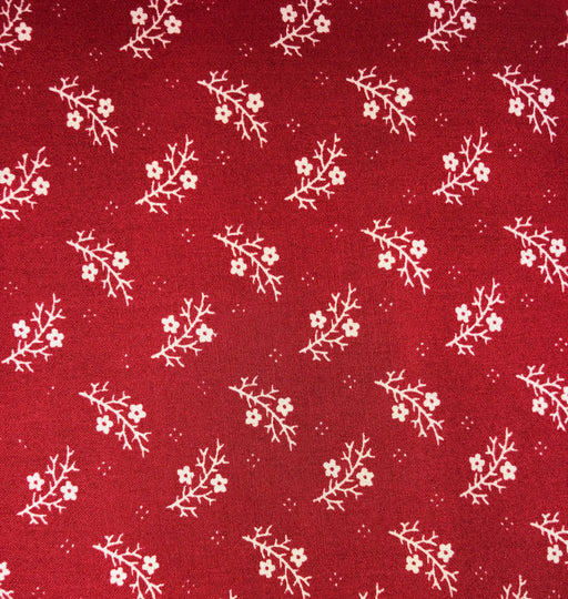 "Floral Gatherings Primitive Gatherings Crimson 108"" Wide Back 11089 11"