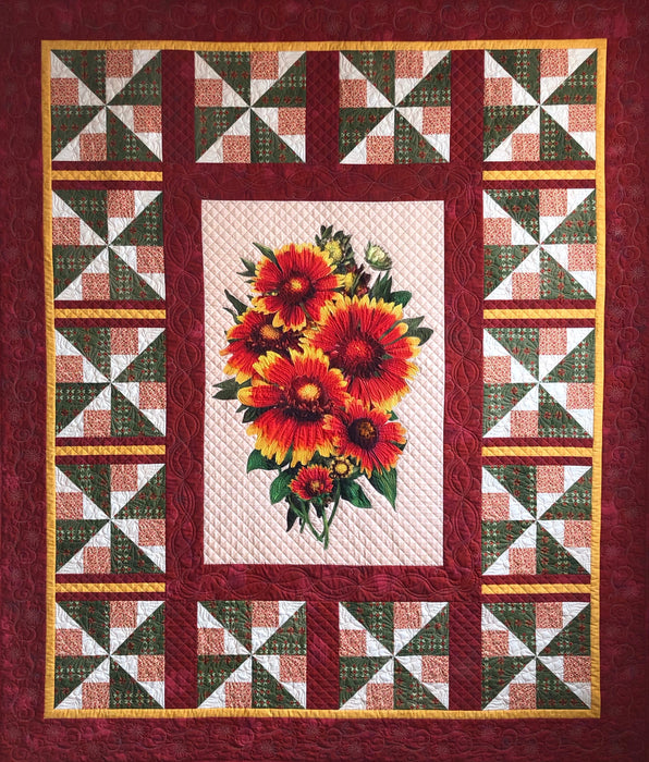 Wild OKLAHOMA Trail Quilt Kit (((SHIPPING OPTION))) Road to Oklahoma Shop Hop 2019