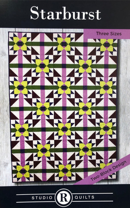 Starburst Studio R Quilts Pattern