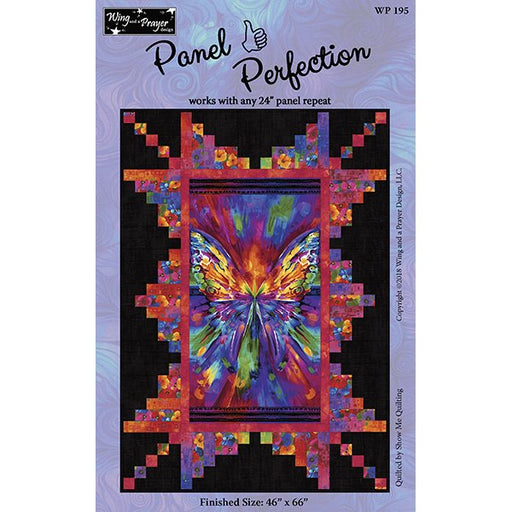 Panel Perfection Quilt Pattern Wing and a Prayer