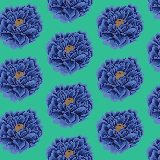 "Full Blown - Blue 108"" Wide Backing"