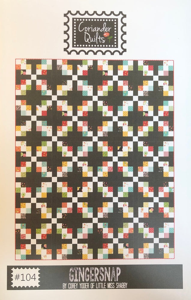 Gingersnap #104 Quilt Pattern