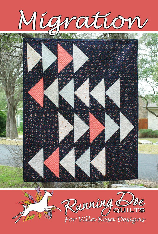 MIGRATION Running Doe Quilts for Villa Rosa Designs