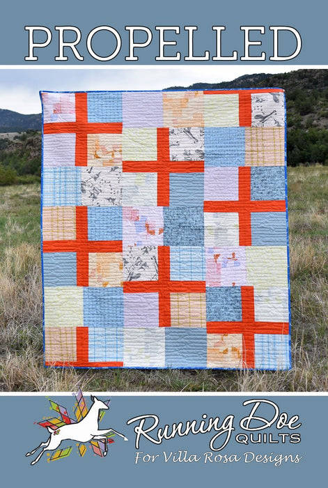 PROPELLED Running Doe Quilts for Villa Rosa Designs