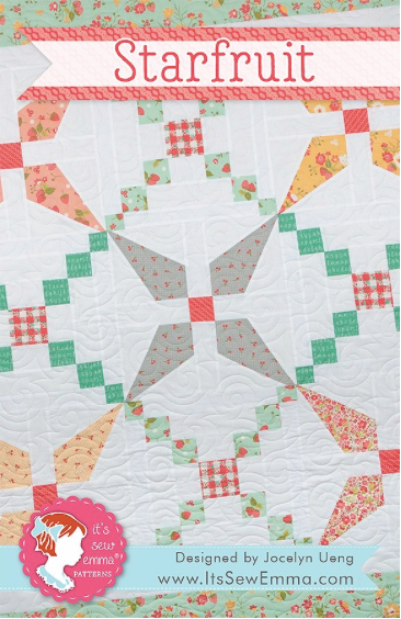 Starfruit Quilt Pattern It's Sew Emma