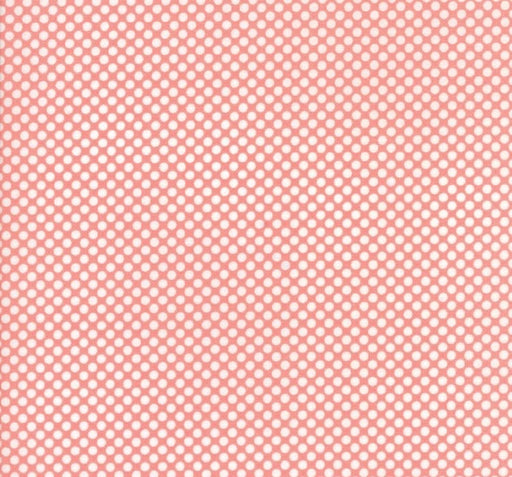 "Vintage Holiday Pink Dot 108"" Wide Back 11138 14"