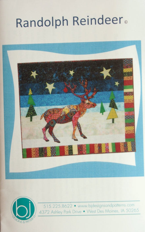 Randolph Reindeer BJ Designs & Patterns