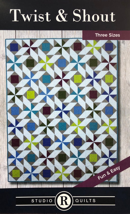 Twist & Shout Studio R Quilts Pattern