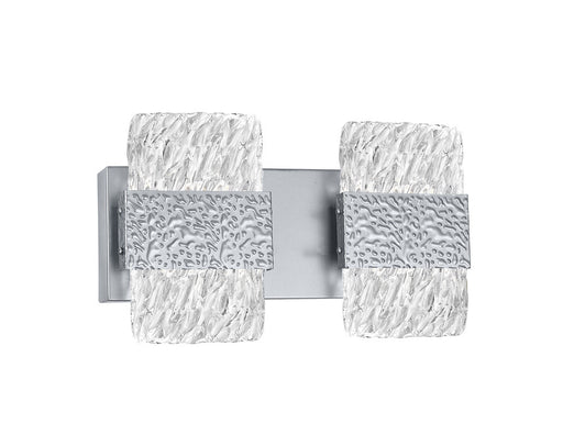 CWI Lighting LED Wall Sconce with Pewter Finish | 1090W14-2-269