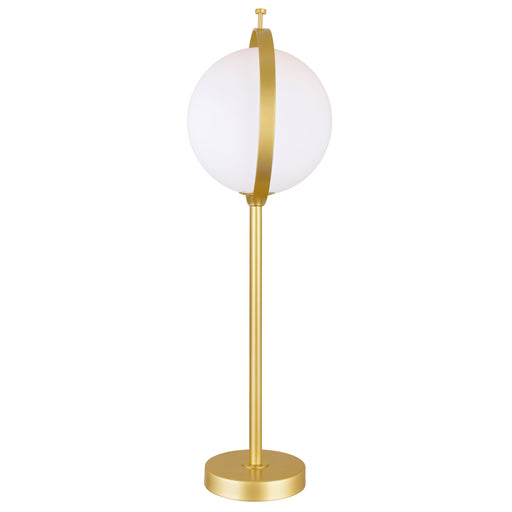 CWI Lighting 1 Light Table Lamp with Brass Finish | 1153T10-1-169-A