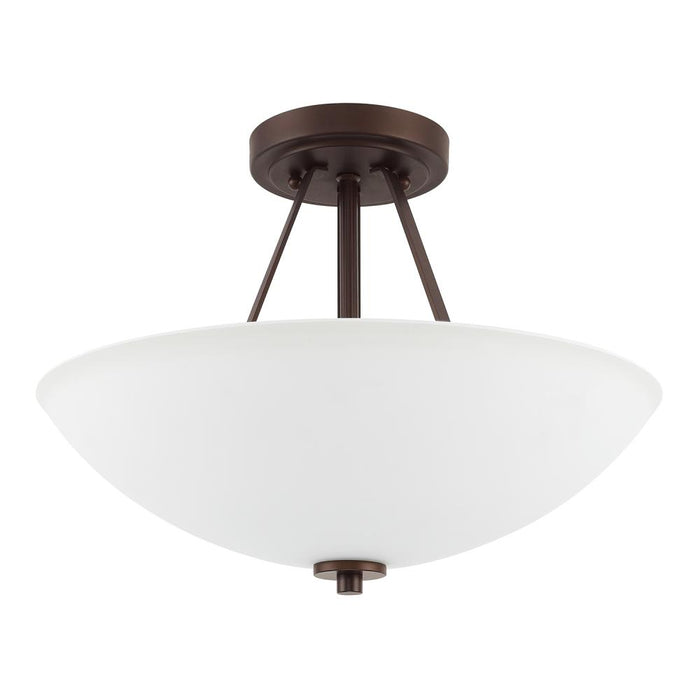 Capital 2 Light Semi-Flush | 218921BZ