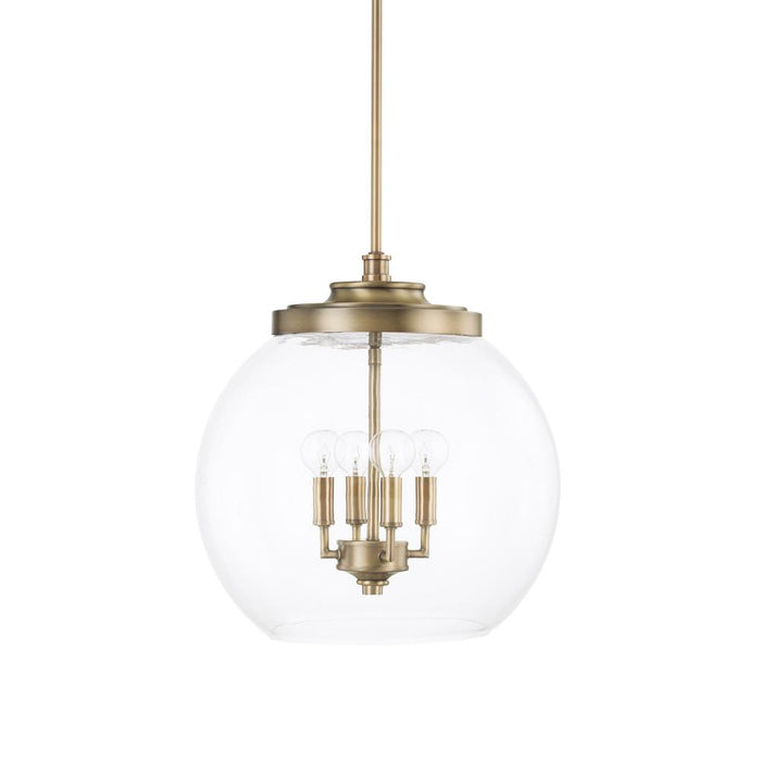 Capital 4 Light Pendant | 321142AD
