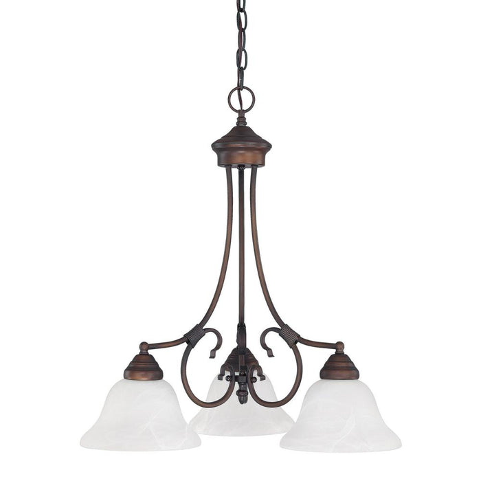 Capital 3 Light Chandelier | 3224MN-220
