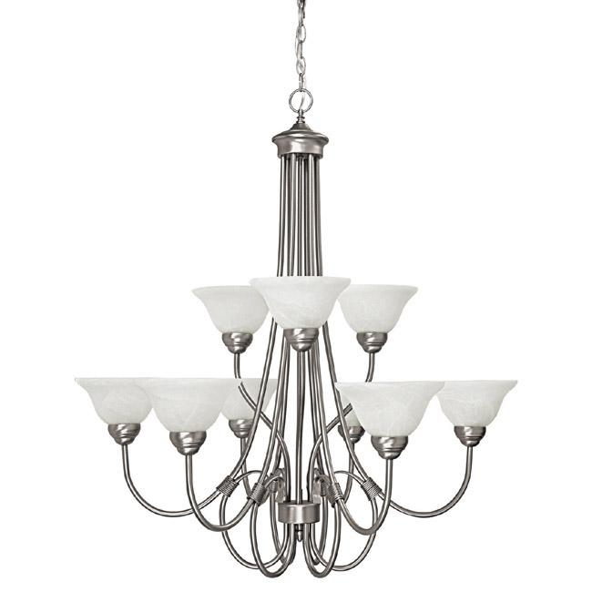 Capital 9 Light Chandelier | 3229MN-220