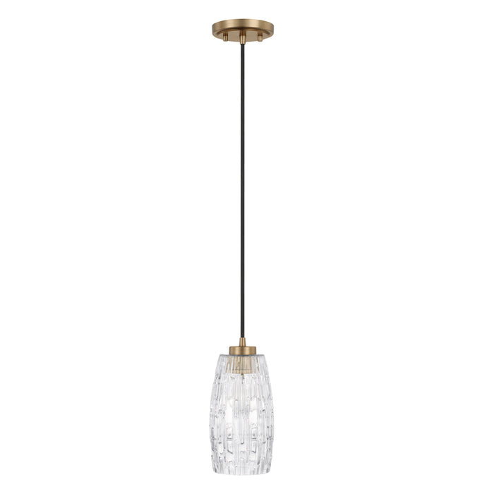 Capital 1 Light Pendant | 328611AD-450