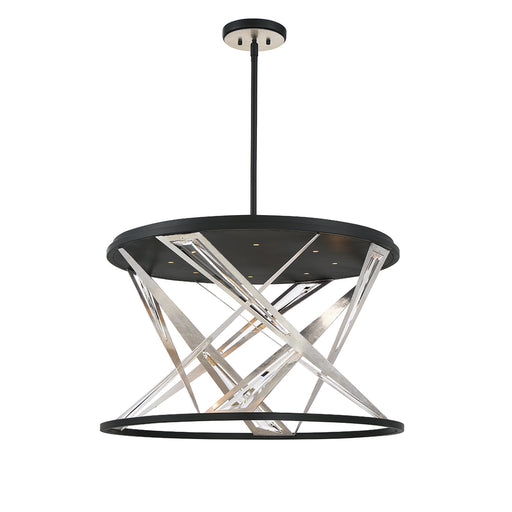 Eurofase SARISE,8 Lights LED CHANDELIER,BLK | 35644-019
