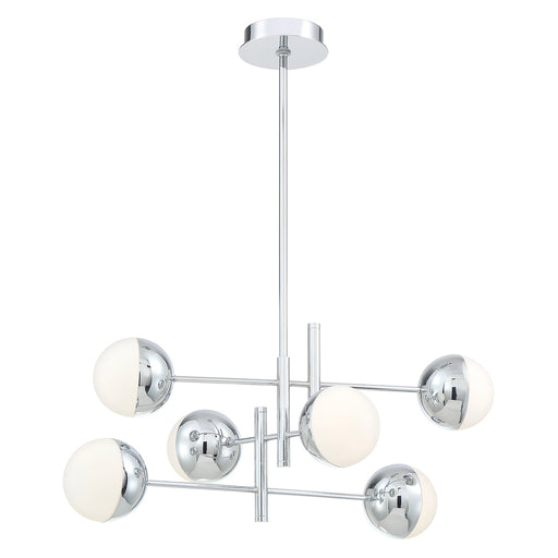 Eurofase FAIRMOUNT,6 Lights LED CHAND,G9,CHR | 35919-018
