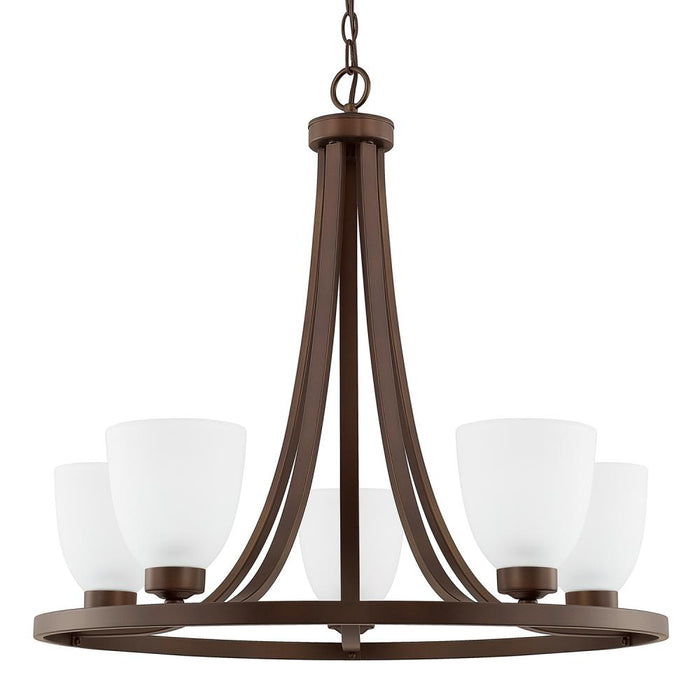 Capital 5 Light Chandelier | 414351BZ-333
