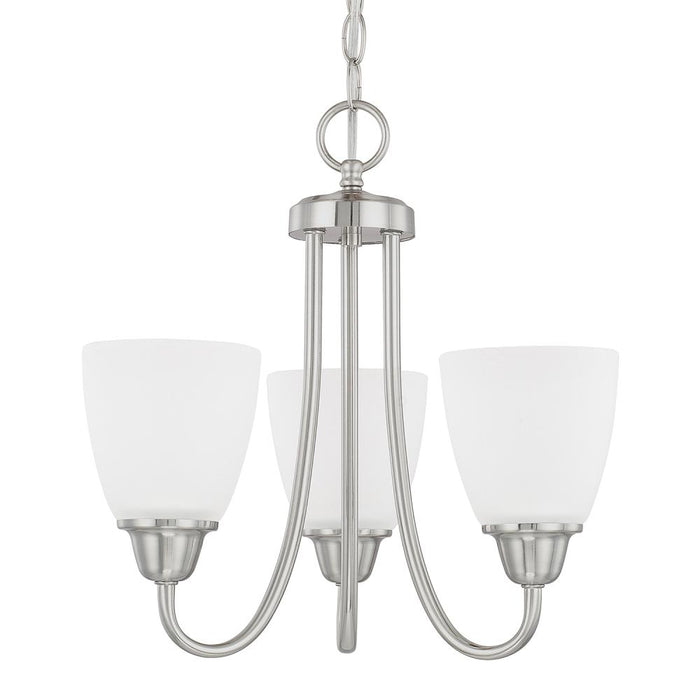 Capital 3 Light Chandelier | 415131BN-337