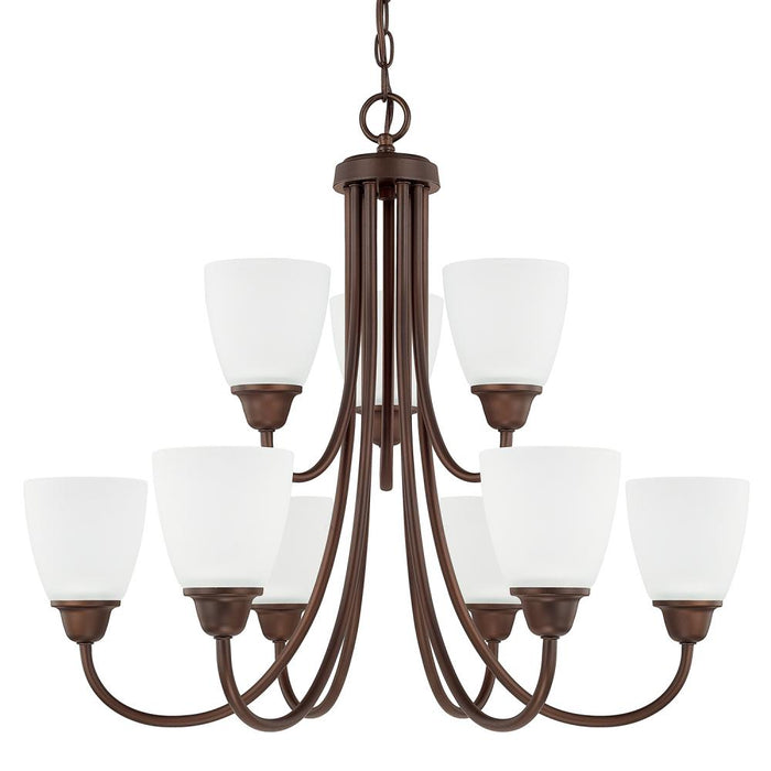 Capital 9 Light Chandelier | 415191BZ-337