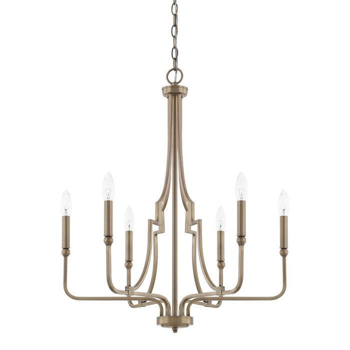 Capital 6 Light Chandelier | 419361AD