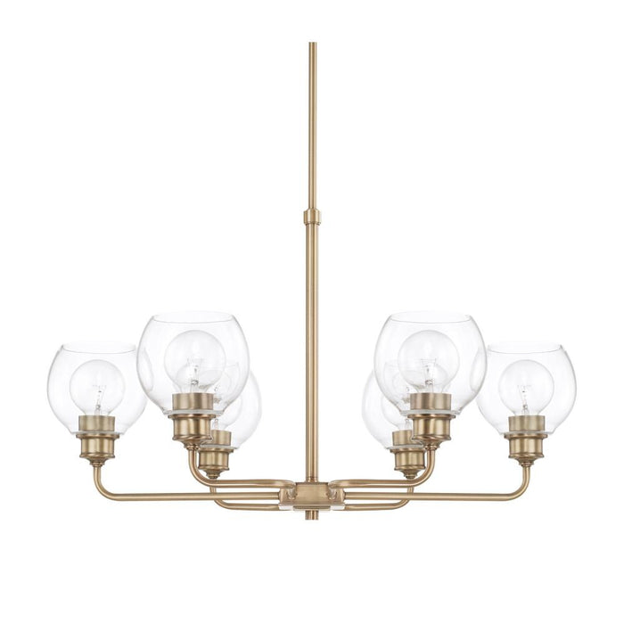 Capital 6 Light Chandelier | 421161AD-426