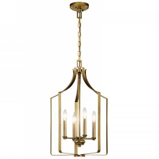 Kichler Mini Chandelier 4Lt | 42496NBR