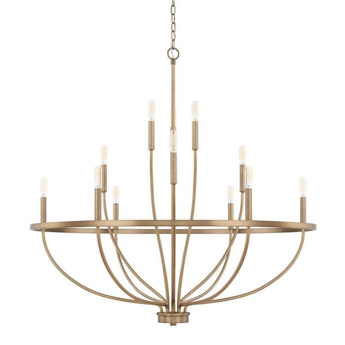 Capital 12 Light Chandelier | 428501AD