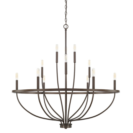 Capital 12 Light Chandelier | 428501BZ