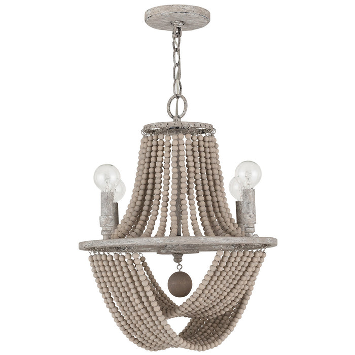 Capital 4 Light Chandelier | 429541MS