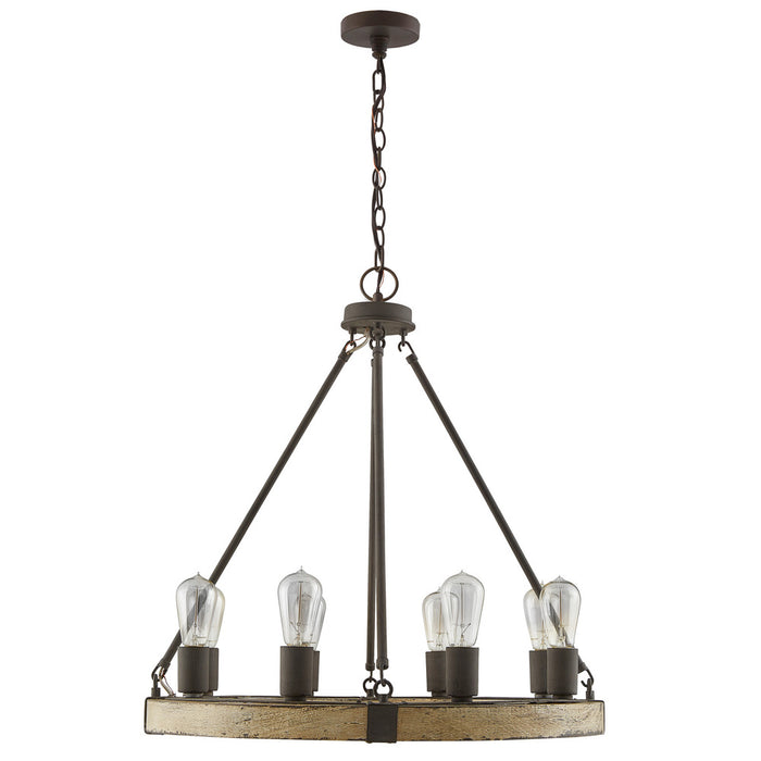 Capital 8 Light Chandelier | 430681SS
