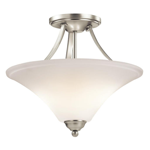Kichler Semi Flush 2Lt LED | 43512NIL18