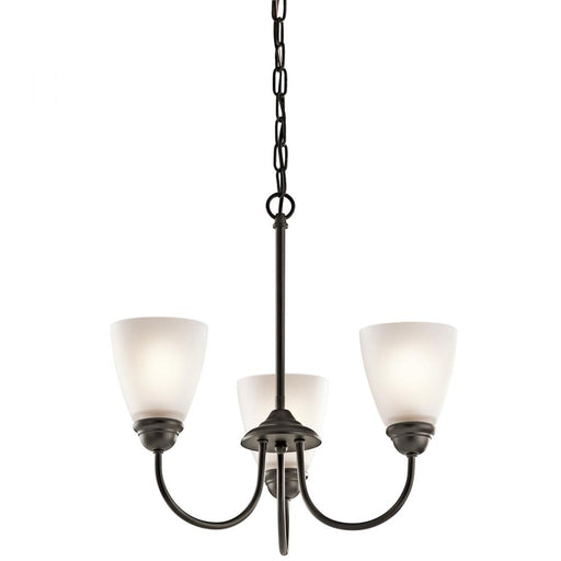 Kichler Mini Chandelier 3 Lights LED | 43637OZL18