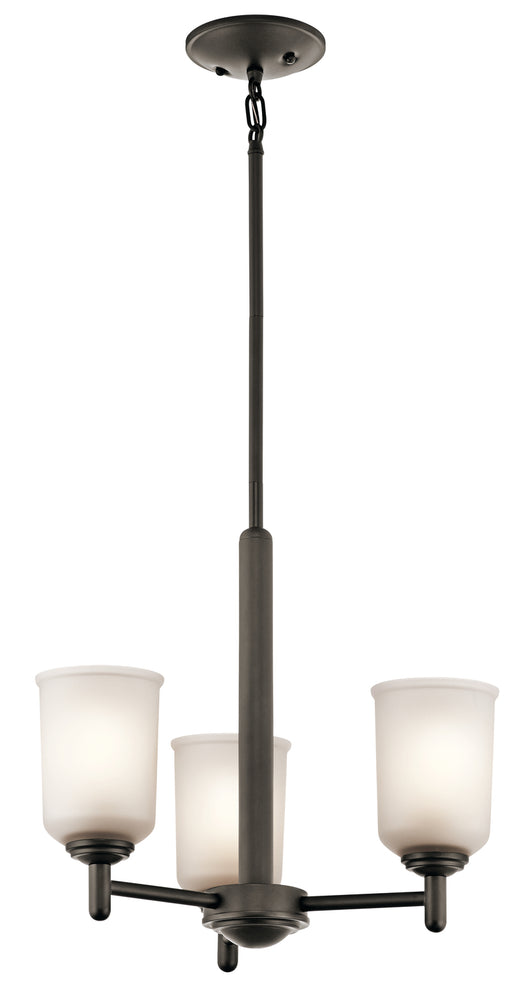 Kichler Mini Chandelier 3 Lights | 43670OZ