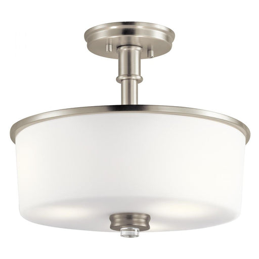 Kichler Semi Flush 3Lt LED | 43926NIL18