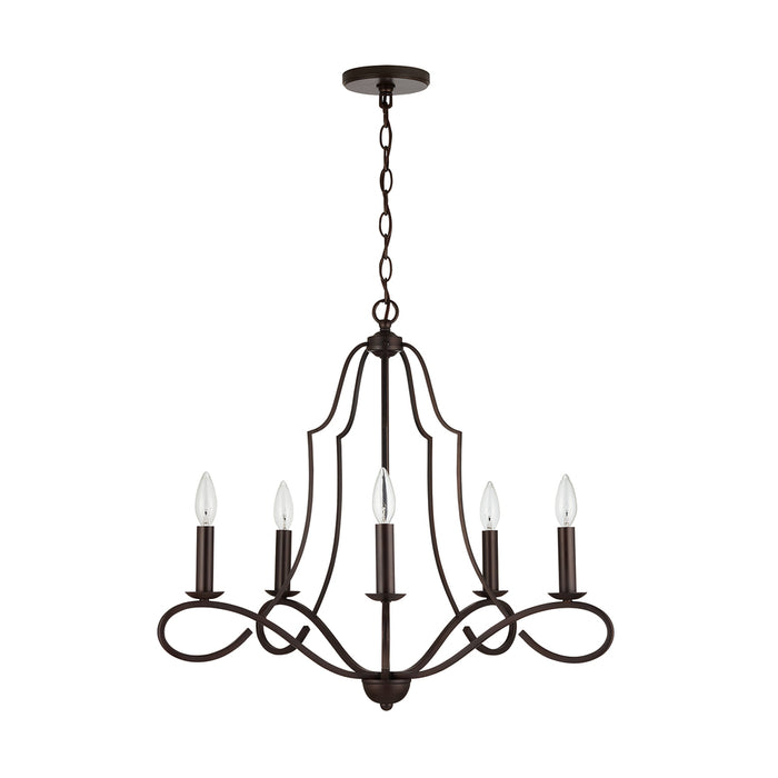 Capital 5 Light Chandelier | 439551BZ