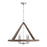 Capital 4 Light Chandelier | 440141GN