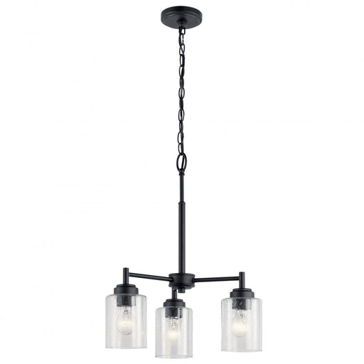 Kichler Mini Chandelier 3 Lights | 44029BK