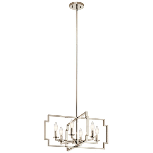 Kichler Chandelier/Semi Flush 6Lt | 44128PN