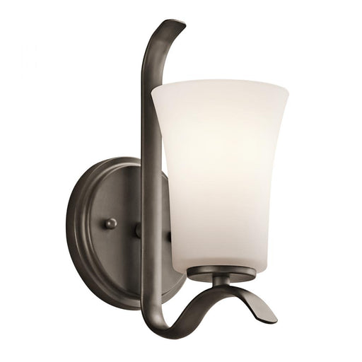 Kichler Wall Sconce 1 Light LED | 45374OZL18