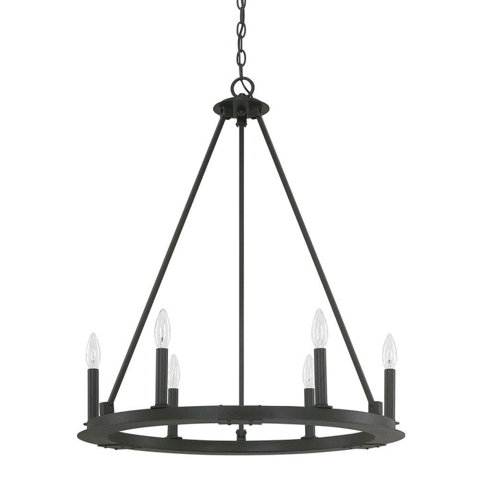 Capital 6 Light Chandelier | 4916BI-000