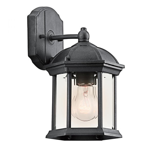 Kichler Outdoor Wall 1Lt LED | 49183BKL18