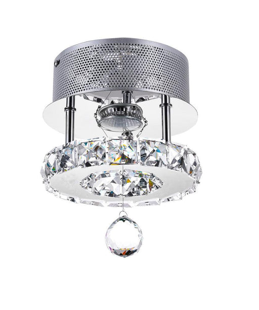 CWI Lighting LED Flush Mount with Chrome finish | 5080C7ST